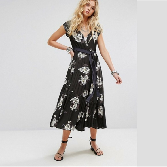 FREE PEOPLE All I Got Printed Maxi Dress NWT 25ed33fad7